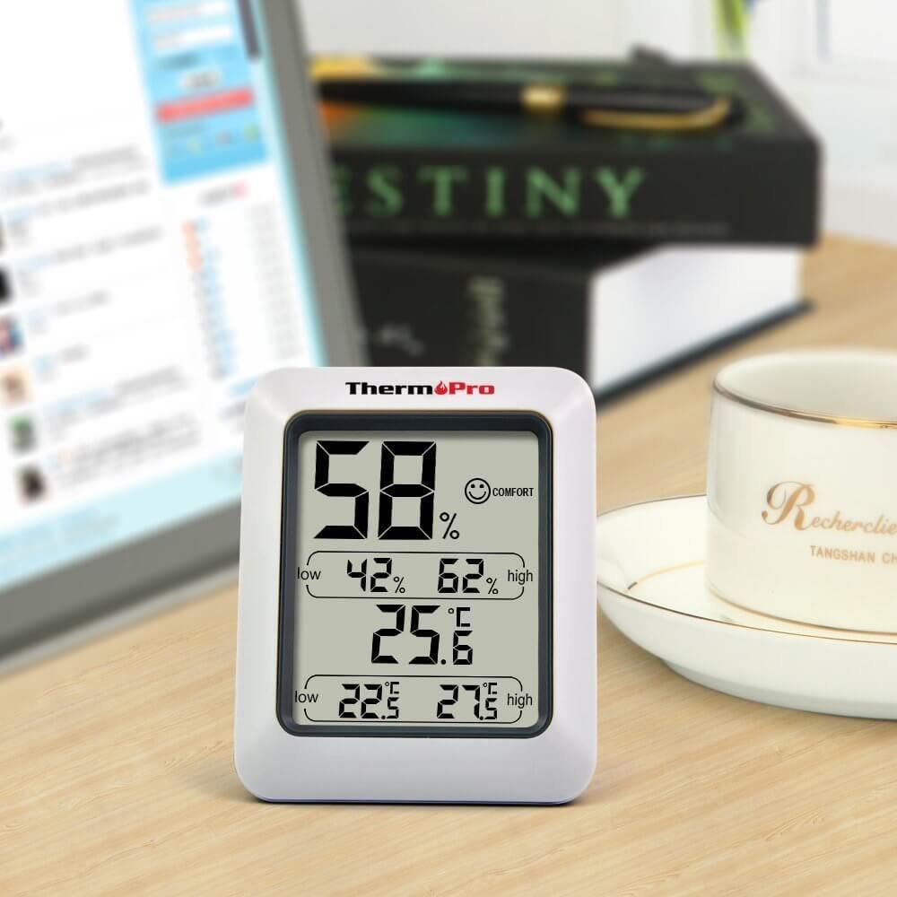 Thermopro Hygrometer Raumklimakontrolle
